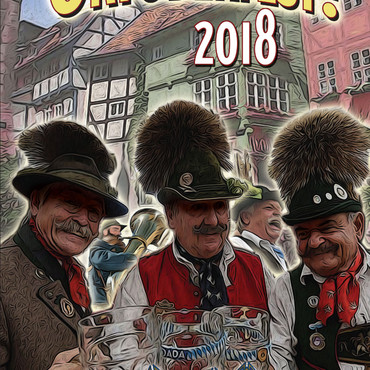 Oktoberfest Ad Book Cover