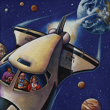Space Shuttle: New Authors