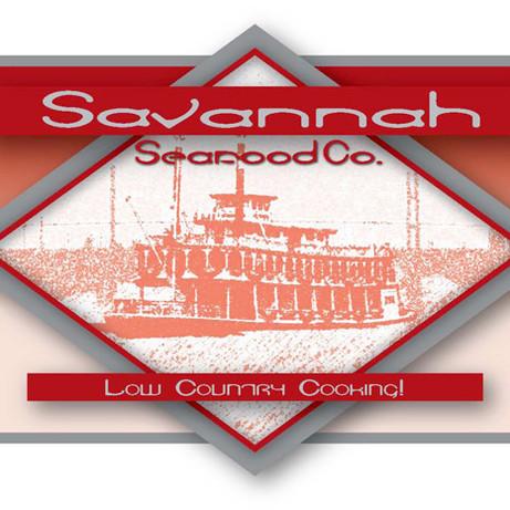 Logo Design: Savanah Seafood Co.