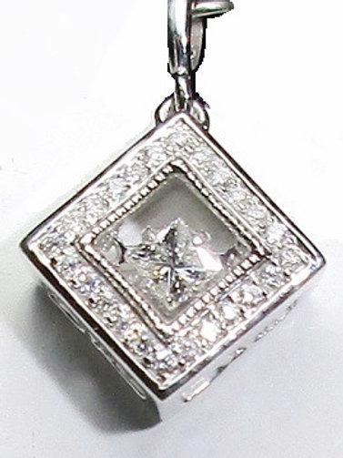 1/3 CTW Dancing Diamond Pendant