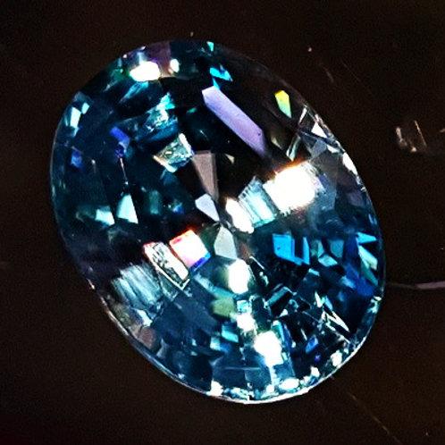 Finest Blue Zircon 2.9 carat