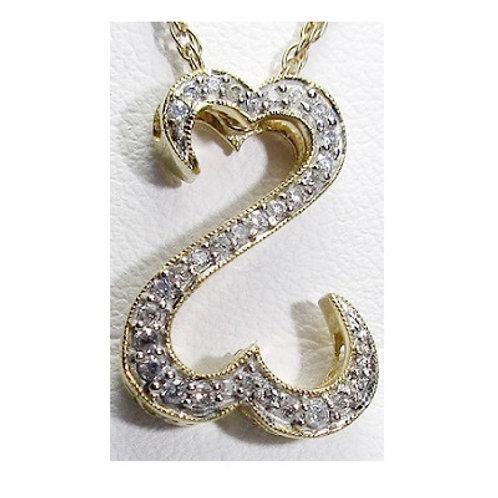 1/2 CTW Diamond Open Heart Pendant