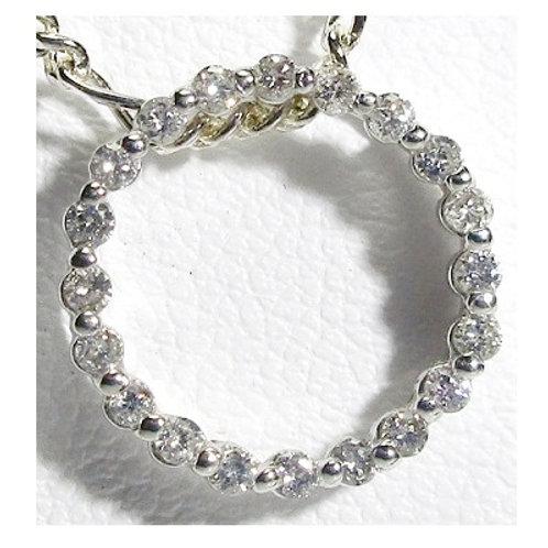 Diamond Circle of Life Pendant
