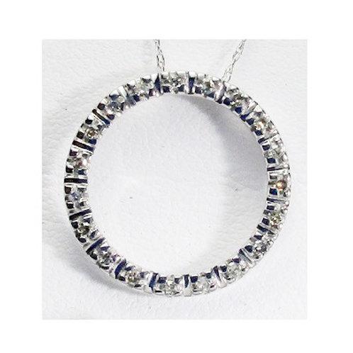 1/6 CTW Diamond Circle of Life Pendant