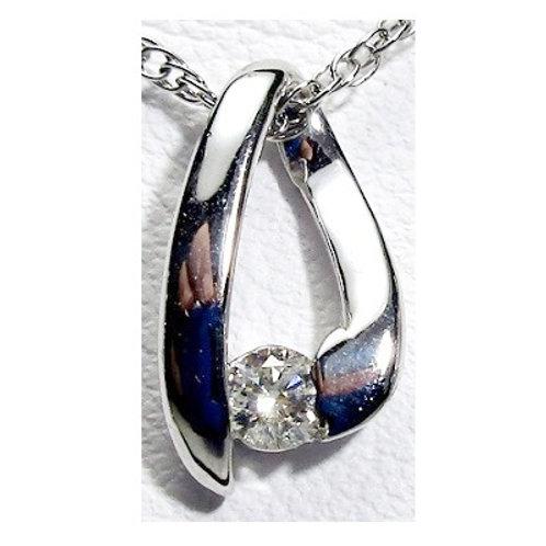 1/10 Carat Diamond Pendant
