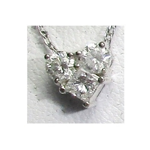 1/2 CTW Diamond Heart Pendant