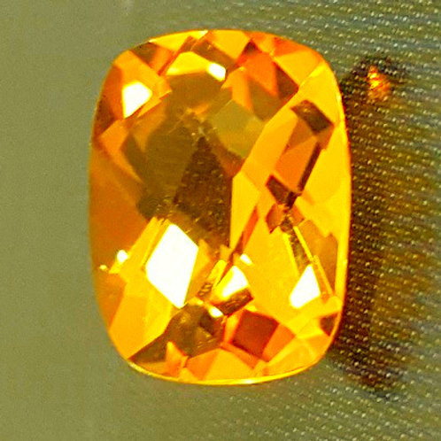 Topaz cushion cut 1.19 carat