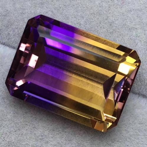 18.5 carat Ametrine