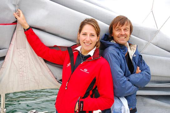 Maud Fontenoy & Nicolas Hulot
