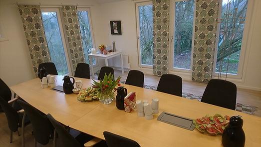 Konferensrummet på Körsbärsdalen B&B