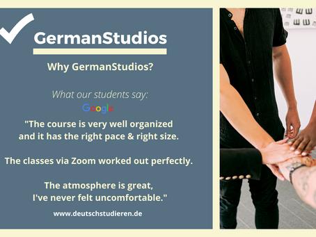 Why GermanStudios? Why we make German courses unique!