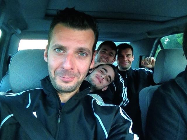 En route pour le 1er match !