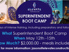 Upcoming Super Boot Camp