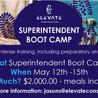 Upcoming Super Boot Camp