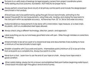 The Field Engineering Commandments