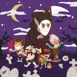 halloween special cover art