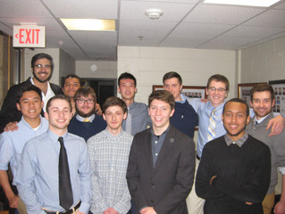 Lambda Eta Chapter Welcomes Newest Pledge Class