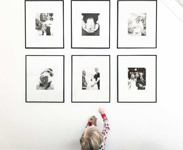 How To: Easy Modern Gallery Wall