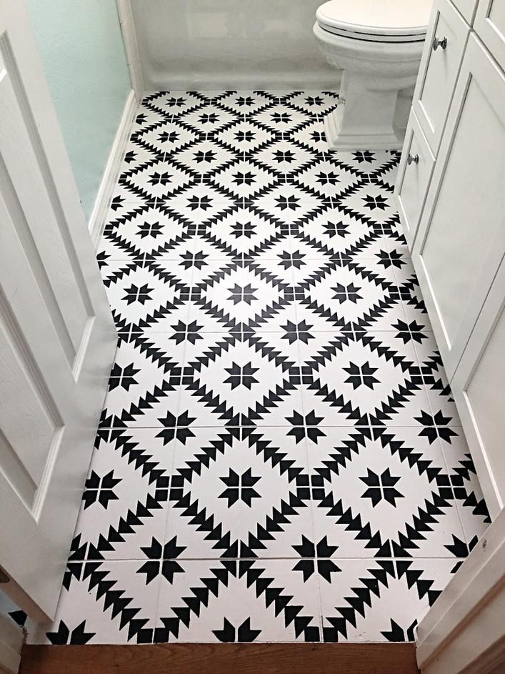 Stenciled Tiles