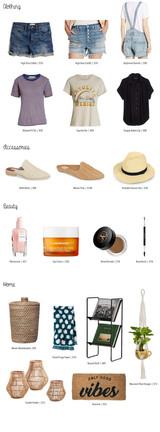 Spring Shopping Guide