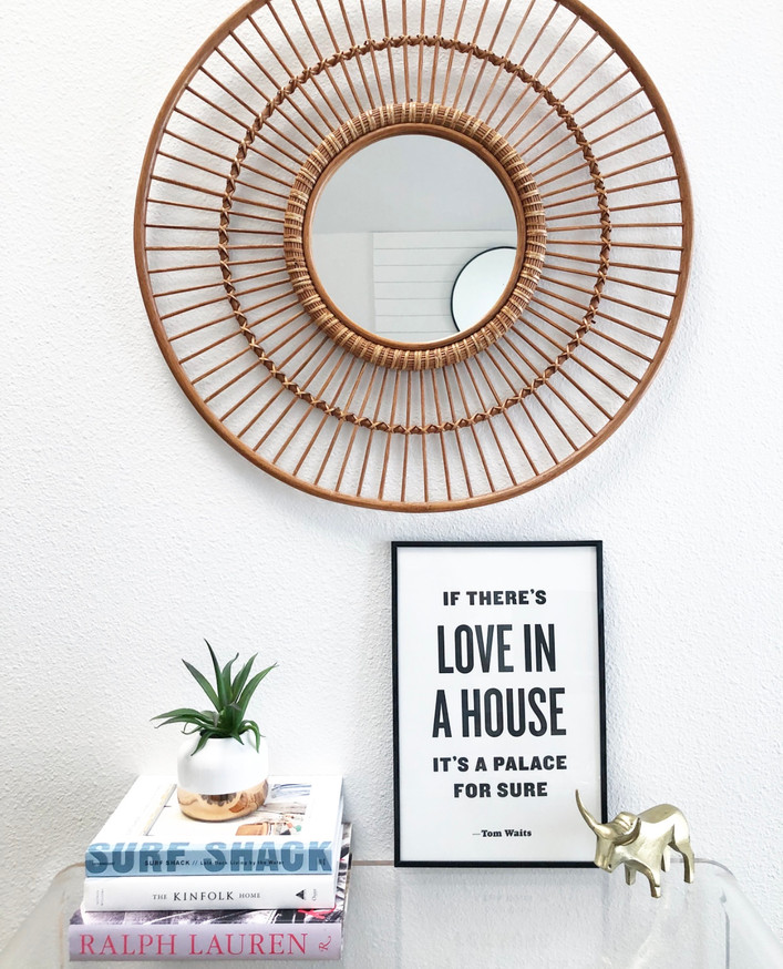 Get the look: Rattan Mirrors