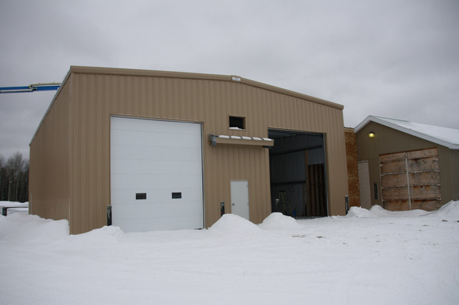 Eastview RV Service Shop Addition