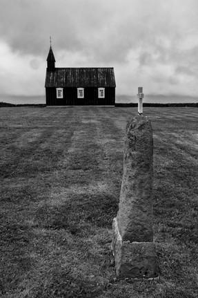 Budir (Black) Church and Cross