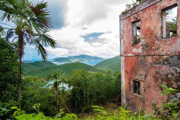 Ruins at Cinnamon Bay