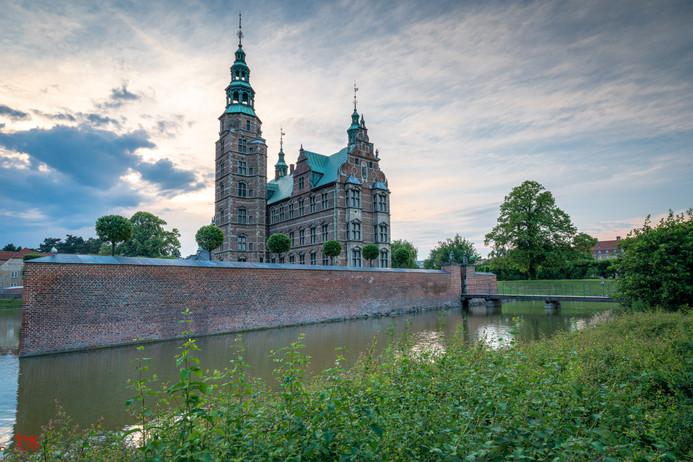Rosenborg Castle from across the moat
