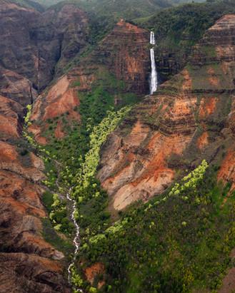 Waipoo waterfalls, Kaui