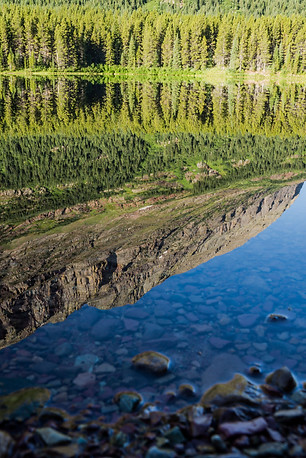 Reflections in Fisher Cap Lake