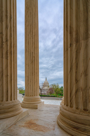 US Capitol from the Supreme Court