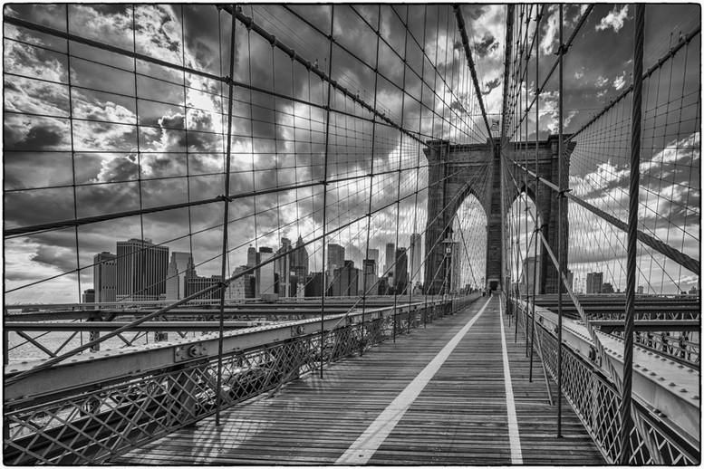 On the Brooklyn Bridge