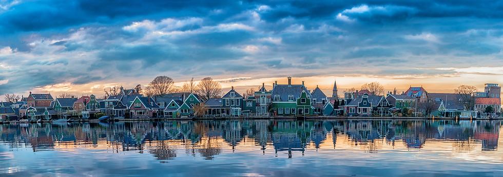 Houses in Zaanse Schans