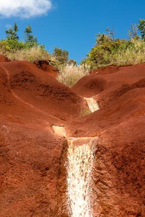 Red Dirt Waterfalls - Kauai