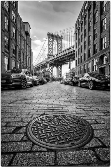 The Manhattan Bridge from DUMBO