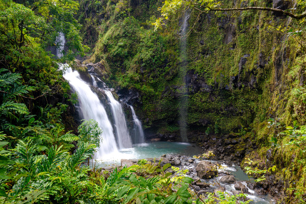 Three Bears Waterfalls, Maui
