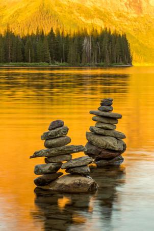 Crains at Two Medicine Lake