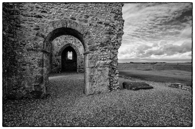 Knowlton Church ruins