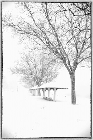 During the blizzard