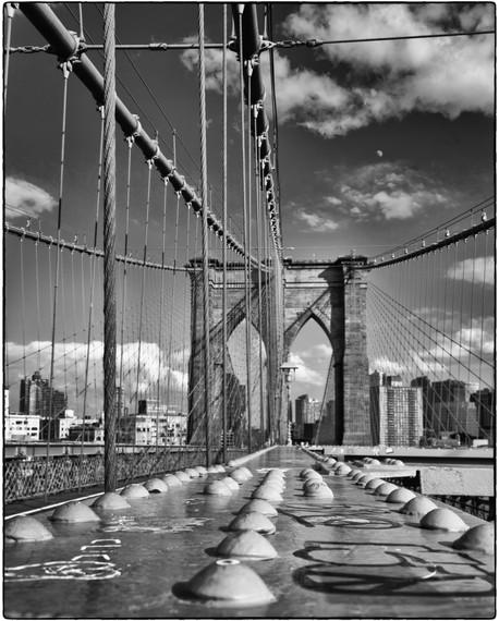 Rivets and cables - Brooklyn Bridge