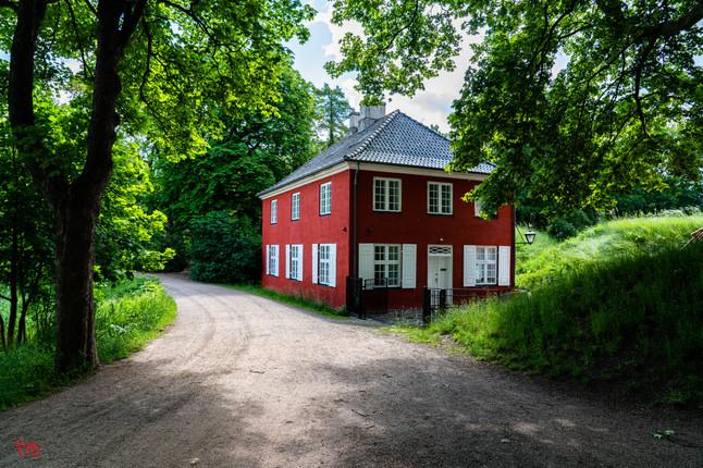 A Red Cottage somewhere in Copenhagen