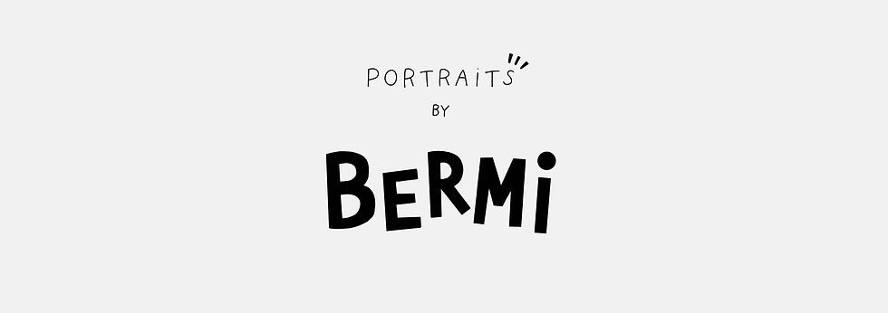 custom portrait missbermi instagram grey