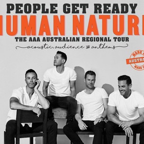 HUMAN NATURE - People Get Ready The AAA Australian Tour 2021 Acoustic, Audience & Anthems