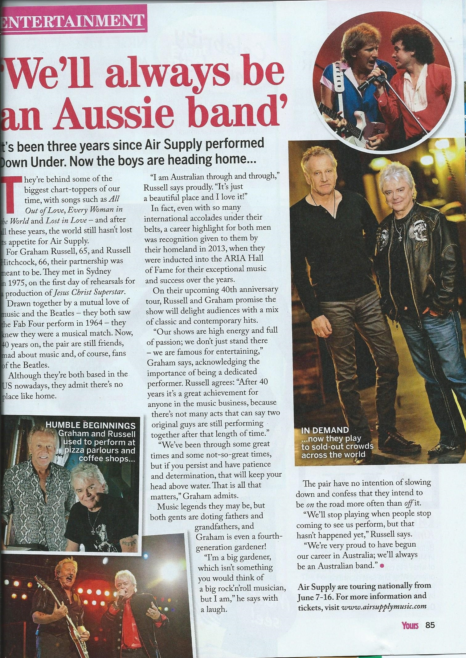 Yours Magazine 19th May