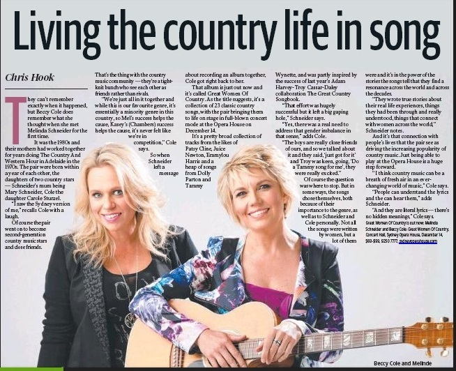 Great Women of Country tour - Sydney