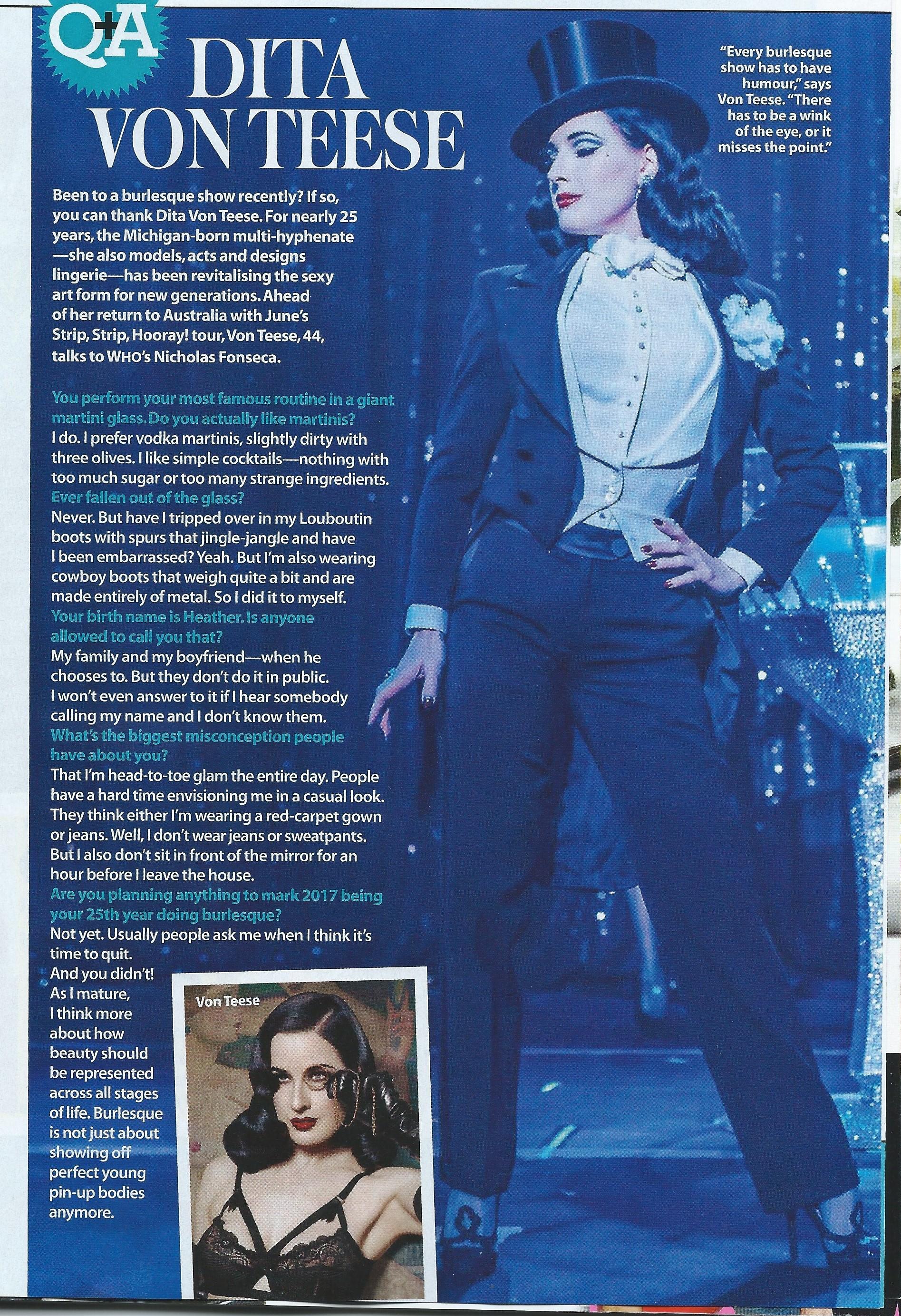 Who Magazine 25th April