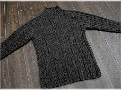 Sweater  Whistler Mountain   Pure Qiviut