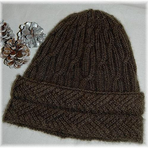 "Hat ""Malcolm Island"" - Pure Qiviut"
