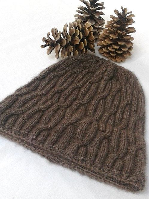 "Hat ""Denman Island"" - Pure Qiviut"